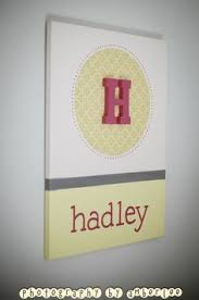 DIY Canvas Art With Childs Namecute For Baby Shower Gift Idea Maybe Have Attendees Sign The Back Words Of Advice Life