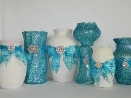 Weddings Wedding Centerpiece Winter Tiffany Blue Aqua Christmas