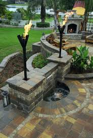 Patio Ideas ~ Outdoor Paver Patio Ideas Outdoor Stone Patio Ideas ... Paver Patio Area With Fire Pit And Sitting Wall Nanopave 2in1 Designs Elegant Look To Your Backyard Carehomedecor Awesome Backyard Patio Designs Pictures Interior Design For Brick Ideas Rubber Pavers Home Depot X Installing A Waste Solutions 123 Diy Paver Outdoor Building 10 Patios That Add Dimension Flair The Yard Garden The Concept Of Ajb Landscaping Fence With Fire Pit Amazing Best Of