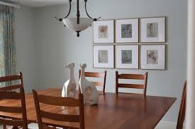 Inspiring Dining Room Wall Decor Tile Arrangement Framed Picture Farmhouse Ideas Simple Diy Table 10