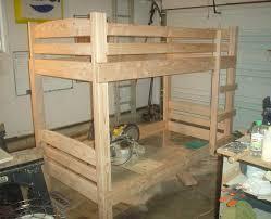 bunk bed building plans bed plans diy u0026 blueprints