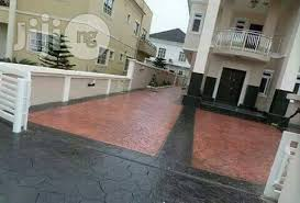 3D Epoxy Floor Stamp Concrete Reflector Or Metalic For Sale In Lagos Island