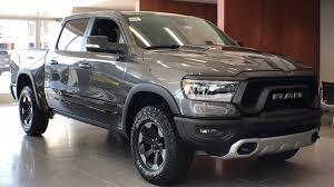 100 Betten Trucks New 2019 Ram 1500 REBEL CREW CAB 4X4 57 BOX For Sale Coopersville MI