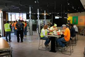 In This Thursday June 1 2017 Photo Customers Eat A Remodeled Dining Room At McDonalds Restaurant Chicago The Company That Helped Define Fast