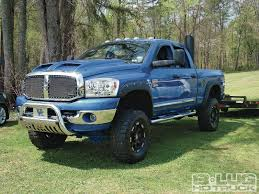 100 Blue Dodge Truck Lifted Dodge Ram 2500 Truck Cummins