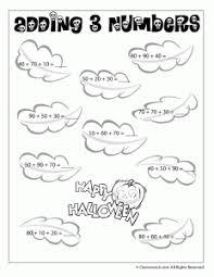 Halloween Multiplication Worksheets Grade 5 by Halloween Addition And Subtraction Worksheets Woo Jr Kids