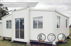 Living bined Folding Container House Decorative Portable