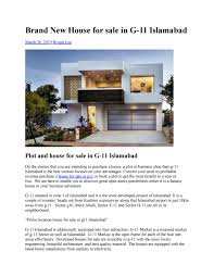 100 Houses F Brand New House For Sale In G11 Islamabad By Yandex3192 Issuu