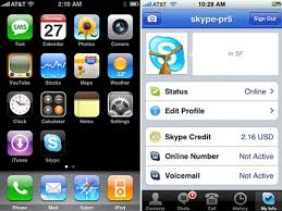Make Skype Calls From An iPhone