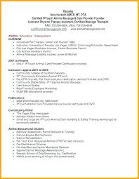 Massage Therapist Cover Letter Sample Resume Webmaster Functional Examples Of Resumes Therapy