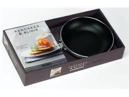 poele a pancake induction coffret pancakes et blinis coffret avec 1 poêle boites et