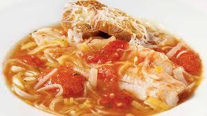 cuisine soupe de poisson soupe de poisson à la tomate recettes iga légumes sole recette