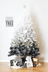 Christmas Tree Decorations Ideas 2014 by Diy Ombre Christmas Tree Little Inspiration