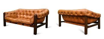 Percival Lafer Brazilian Leather Sofa by Mid Century Modern Leather Sling Sofa By Percival Lafer Urban