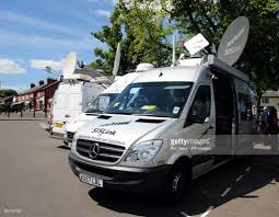 TV Broadcast Vehicle Pictures | Getty Images White 10 Ton Sallite Truck 1997 Picture Cars West Pssi Global Services Achieves Record Multiphsallite Cool Vector News Van Folded Unfolded Stock Royalty Free Uplink Production Trucks Hurst Youtube Cnn Charleston South Carolina Editorial Glyph Icon Filecnn Philippines Ob Van News Gathering Sallite Truck Salcedo On Round Button Art Getty Our Is Providing A Makeshift Control Room For Our Live Tv Usa Photo 86615394 Alamy