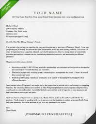 Cover Letter Example Pharmacist Elegant