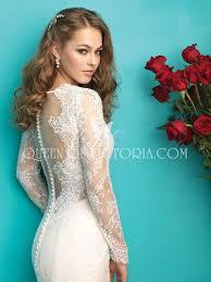 elegant trumpet mermaid sheer long sleeve beautiful lace wedding