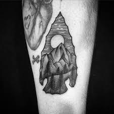 Black And Grey Arrowhead