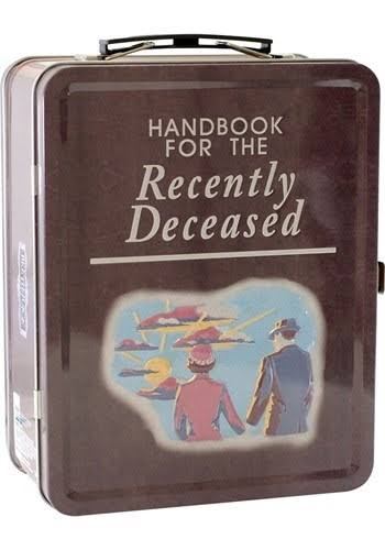 Beetlejuice Handbook for The Recently Deceased Lunchbox F4394462