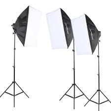100 Studio Tent Andoer Photography Lighting Kit Photo Equipment