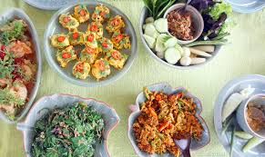best international cuisine top view of cuisine dishes international food stock
