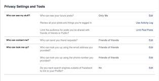 The plete Guide to Privacy Settings Techlicious