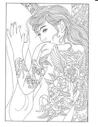 Body Art Tattoo Designs Coloring Book Printable PagesAdult