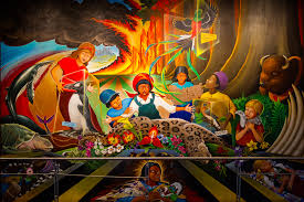 Denver Airport Murals Conspiracy Theory by The Judeo Masonic Denver International Airport