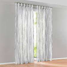 gardinen modern vorhänge dekogardinen fenstergardine schals wohnzimmer grau ebay