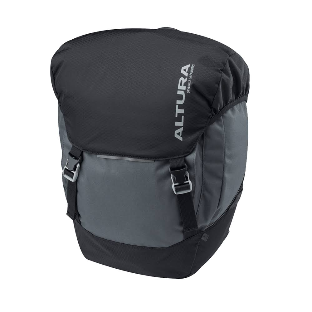 Altura Dryline 2 Panniers Pair Grey/Black 56 Litre