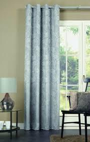 ösenschal loreley grau vorhang gardine mit ösen blickdicht