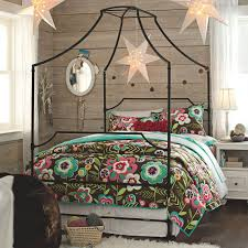 Twin Metal Canopy Bed Pewter With Curtains by Iron Canopy Bed Decor Romantic And Beautiful Iron Canopy Bed