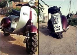 Bajaj Priya Scooter Modified