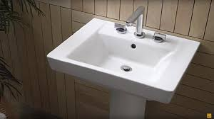 18 Inch Pedestal Sink by Bathroom Sinks Find Your New American Standard Drop In Wall