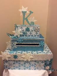 Winter Wonderland Snowflake Card Box For Weddings Sweet Quinceanera Bar Mitzvah Anniversary Custom Made How YOU Want