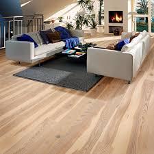 Kahrs Flooring Engineered Hardwood by Kahrs Ash Sandvig 1 Strip 187mm Matt Lacquered White