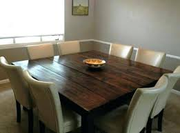 Rustic Square Dining Table Best Tables Ideas On Kitchen Seats