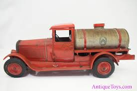 100 Toy Tanker Trucks 1920s Citroen C4 Clockwork Tin Oil Truck Sold Antique
