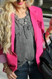 129 best how to wear my pink blazer images on pinterest pink