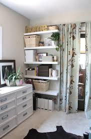New Office Floating Shelves