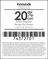 Kirklands Coupons - 20% Off Today At Kirklands, Or Online Via Promo ... Kirkland Top Coupons Promo Codes The Good And The Beautiful Coupon Code Coupon Wwwkirklandssurveycom Kirklands Customer Coupon Survey Up To 50 Off Christmas Decor At Cobra Radar Costco Canada Book 2018 Frys Electronics Black Friday Ads Sales Doorbusters Deals Pin By Ann On Coupons Free 15 Off Or Online Via Promo Allposters Free Shipping 20 Ugg Store Sf Green China Sirius Acvation Codes Pillows 2
