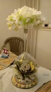 Wedding Crafts Centerpieces Centrepieces Ball Lights Artificial Antigua Gabriel Flower Arrangements Paper