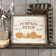 Pumpkin Patch Near Cincinnati Oh by 18 U2033x21 U2033 Framed Wood Sign Workshop Many Fall Halloween And