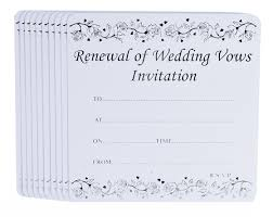 Renewal Of Marriage Vows Invitations Cards Invitation