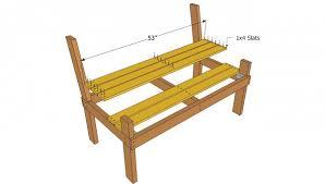 Park Bench Plans MyOutdoorPlans