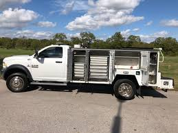 100 Service Truck 2014 RAM 5500 4x4 ATX And Equipment