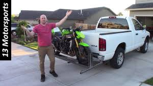 Build Your Own Motorcycle Carrier! - YouTube Lift Kit Installation Archives Truck Accsories Featuring Line Unloading Motorcycle On Ramped Up Pro Powered Lift Ezylift 2000 Pound Lifting Capacity Vehicles Pinterest Parts For Toyota Tacoma Trucks Avid Bed Rail System Avid Products Armor New Gets Linex Bed And Awesome Custom Install Mikes Ae Technologies Inc Ravagoli 600 Series Scissors Hauling In Pictures Pickup Loaders Bmw Luxury Touring Community Carrier