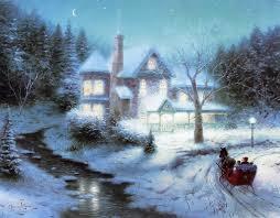 Thomas Kinkade Christmas Tree Cottage by 134 Best The Painter Of Light Thomas Kinkade Images On Pinterest