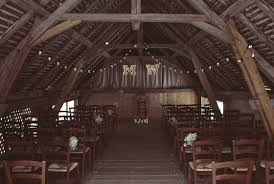 Barn Wedding Festoon Lights