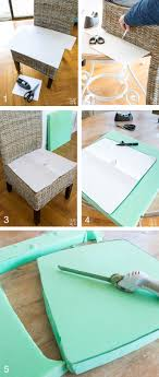 DIY Chair Cushions For My Kitchen | In My Own Style